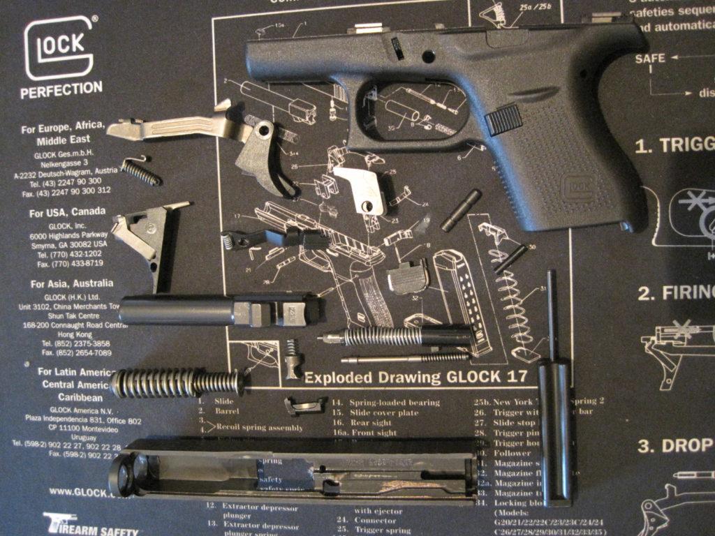 Pistol Diagram Glock Golfclub 17