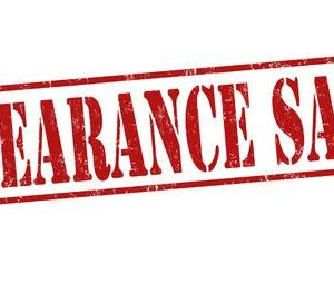 Clearance / Discontinued Items