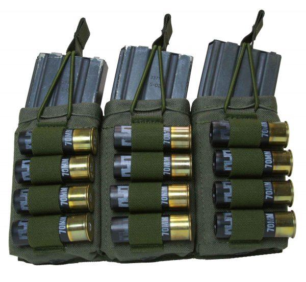 M4 / 12ga Shotgun Magazine Pouch - Triple